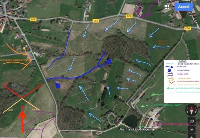 Sector Analysis - La Roseraie de Sacha, Le Bourg d'Hem